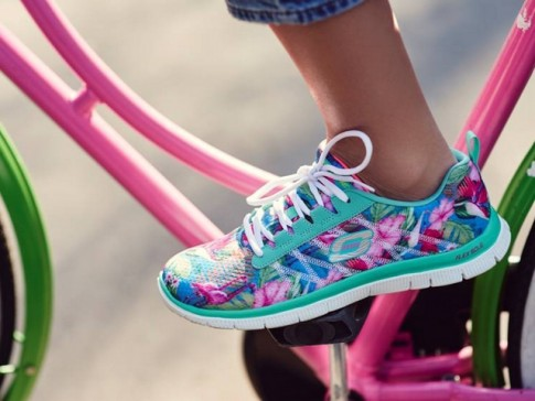 Be active and happy with Skechers