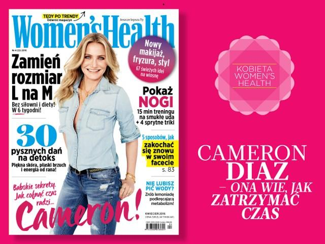 okładka Women's Health 04/2016