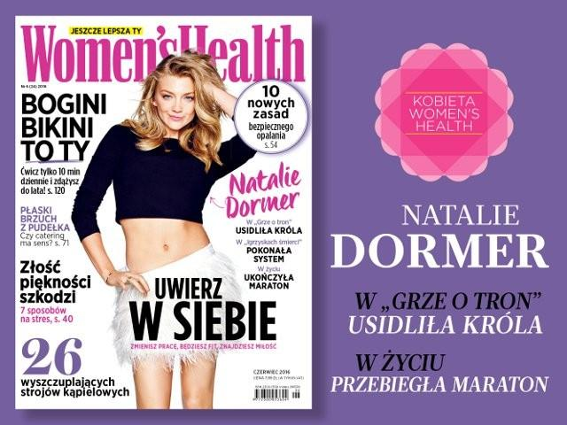 okładka Women's Health 06/2016