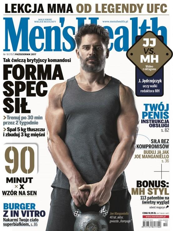 Men's Health okładka 10 2017 Joe Manganiello