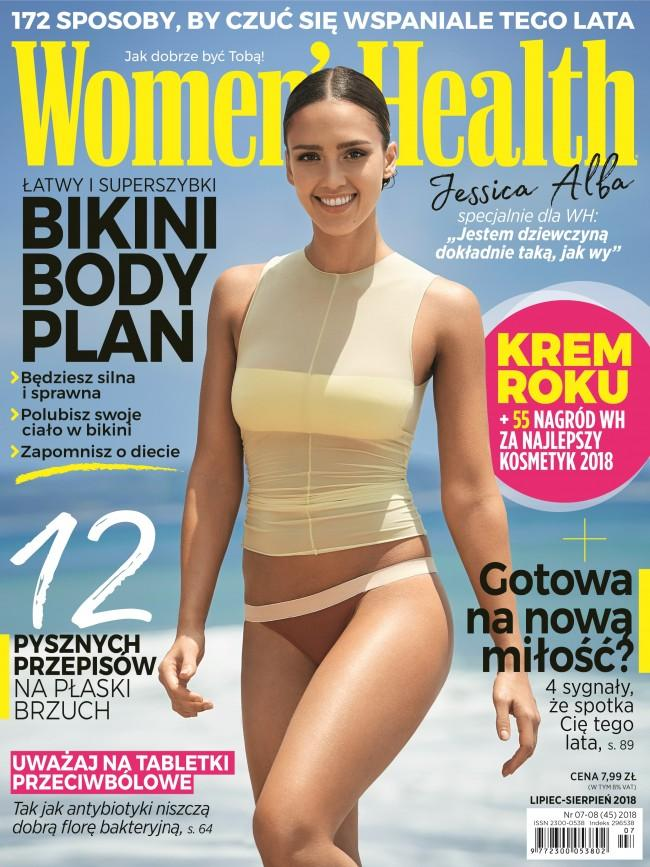 okładka Women's Health 07-08/18
